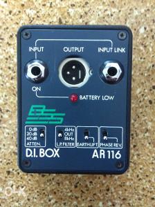 D.I. BOX     ar116