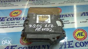 El motora Peugeot 206 1.1 B 9637086980 AE 0032