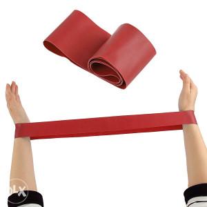 Elastična guma sprava za vježbanje, sport, crvena