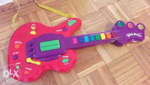 Gitara igračka za djecu na baterije