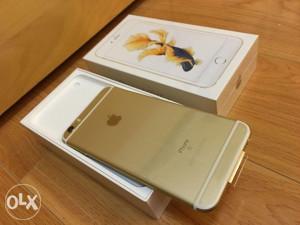 Iphone 6s 64 GB GOLD NOVOO 1250