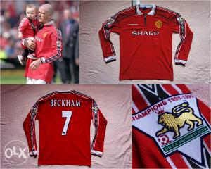 Legendarni dres Manchester United BECKHAM 7