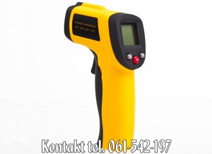 Infracrveni laserski termometar