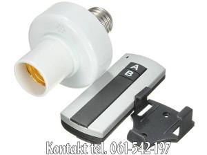 Kontrolor sijalice za grlo E27 na daljinski