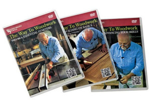 The Way to Woodwork from Woodworker's Journal - 4DVD