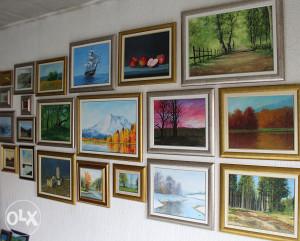 Prodaja originalnih umjetničkih slika