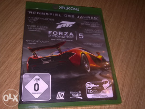 FORZA MOTORSPORT 5 Game Of The Year Editon XBOX ONE