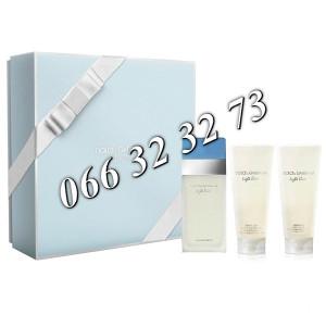 Dolce & Gabbana Light Blue 100ml + 100ml BL + 100ml SG Ž 100 ml