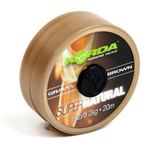 Korda SUPER NATURAL 25lb 20m - Gravel Brown - KSNB25