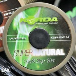 SUPER NATURAL 25lb 20m - Weedy Green - KSNG25