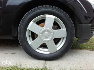 Alu felge Ford 4x108 sa exstra gumama i maticama