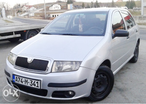 Škoda Fabia 1.2 benzin 2005 godina