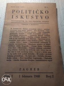 Knjiga zagreb 1940-godina