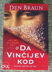 "Dan Brown - ""Da Vincijev kod"""
