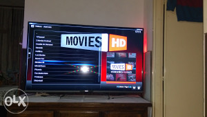 Philips smat tv 55 3d ambilight