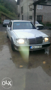 Mercedes 124 2.5 turbo