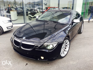 BMW 630 BENZIN 2005 GOD FULL OPREMA