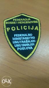 Policijska oznaka 1-POLICIJA FMUP