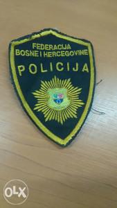 Policijska oznaka 2-POLICIJA FBIH
