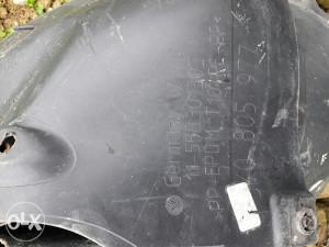 Plastike ispod blatobrana vw