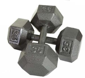 Metalne Bućice HEXA set 15kg Jednoručni Uteg Bućica