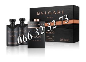 Bvlgari Man In Black 60ml EDP + 40ml ASB + 40ml SG M 60 ml