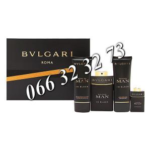 Bvlgari Man In Black 100ml EDP + 15ml EDP + 100ml ASB + 100ml SG M 100 ml