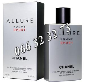 Chanel Allure Homme Sport 200ml Shower Gel ... M 200 ml
