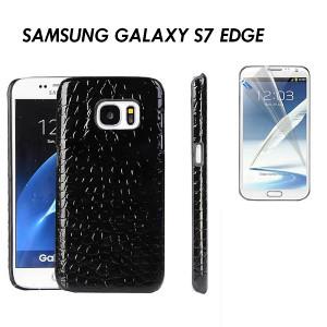 Samsung Galaxy S7 Edge Maska Kozna + FOLIJA