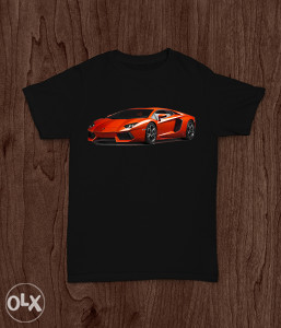 SuperMajice | AUTA | Lamborghini Aventador majica