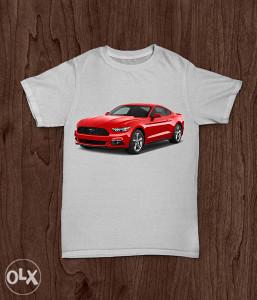 SuperMajice | AUTA | Mustang majica