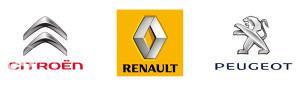 Citroen Renault Peugeot ( svi dijelovi)