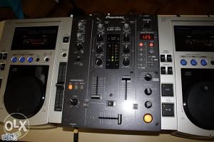 DJM 400 i par CDJ 100 S