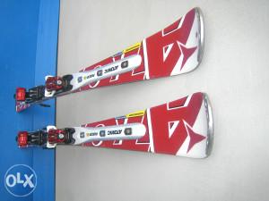 Skije Atomic Race Woodcore Titanium