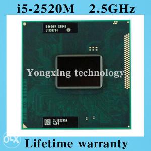 Intel® Core™ i5-2520M Processor  (3M up 3.2)