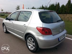 Peugeot 307 2.0 hdi 66kw klima 5vrata 2003.god