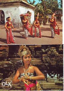 STARE RAZGLEDNICE-Indonezija
