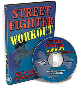Street Fighter Workout For Self Defense - DVD