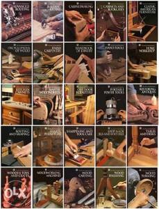 Velika kolekcija e-knjiga o obradi drveta (pdf)-3DVD