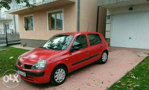 Renault Clio, 1.2 benzin - sekvent plin, tek reg.
