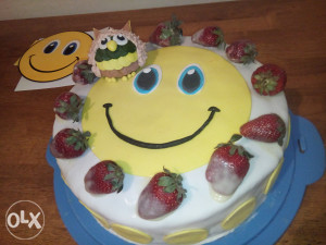 Smiley torta