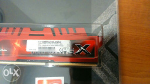 RAM 8GB DDR3 G.Skill 1600MHz 1,5V