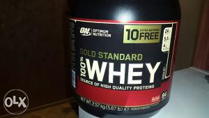 Optimum gold whey 2.57kg 84 serviranja