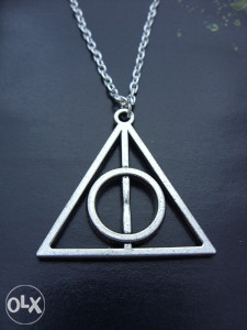 Ogrlica Harry Potter - Deathly Hallows