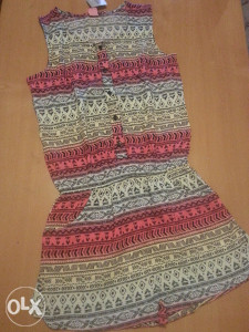 Kombinizon za djevojčice, markirana haljina