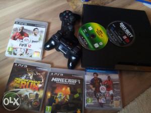 PlayStation 3  PS3 Slim Konzola