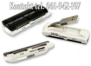 USB Čitač memory kartica - model B3