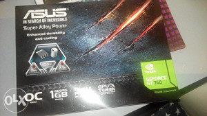 GeForce GT740 Asus 1GB DDR5