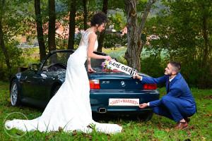 BMW Z3 (Najam automobila za svadbe - vjencanja)