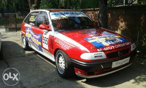 Opel astra ...auto za trke